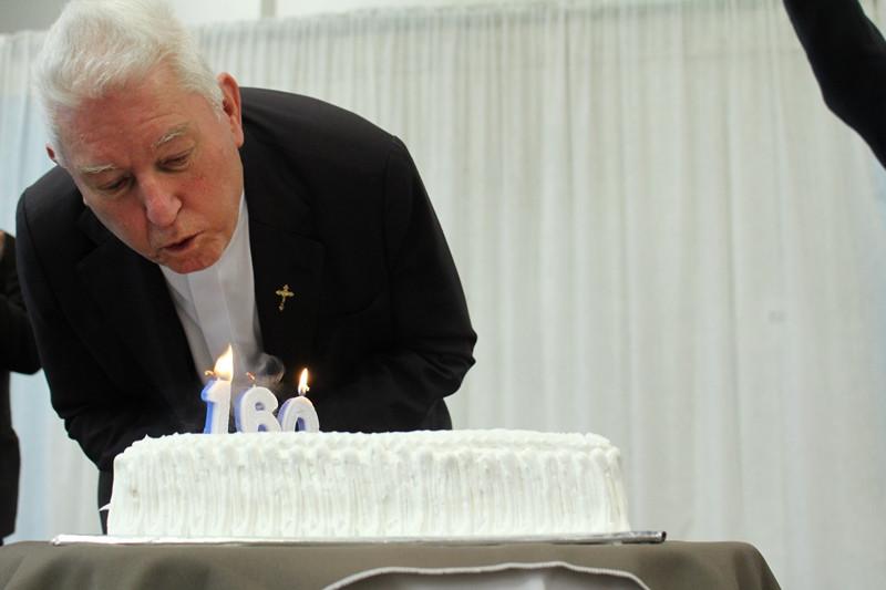 Dom Dadeus celebrou 160 anos: 80 de vida, 55 de sacerdócio e 25 de bispo. Foto: Amanda Fetzner Efrom