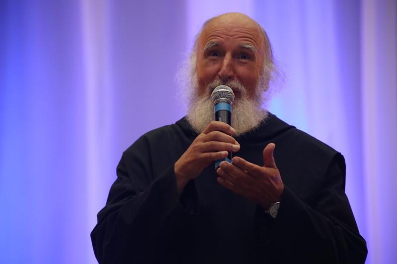 Anselm Grün tem mais de 300 obras sobre espiritualidade, traduzidas para 30 idiomas. Foto: Leonardo Mayer, divulgação