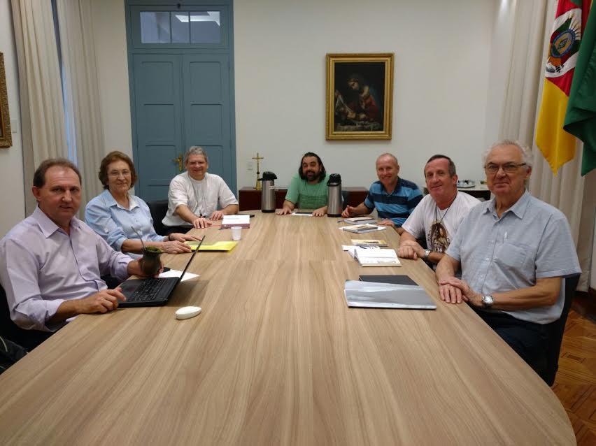 Comissão da Ação Social da Arquidiocese de Porto Alegre. Foto: divulgação