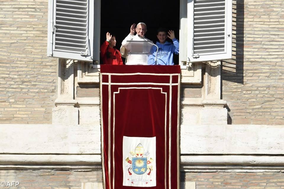 Foto: AFP - reprodução Facebook Rádio Vaticano