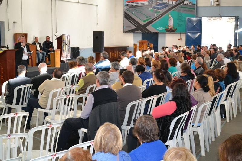 Evento reuniu representantes de todos os vicariatos e áreas pastorais da Arquidiocese de Porto Alegre. Foto: divulgação Cáritas Arquidiocesana