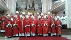 Bispos reunidos em Cidreira. Foto: divulgação