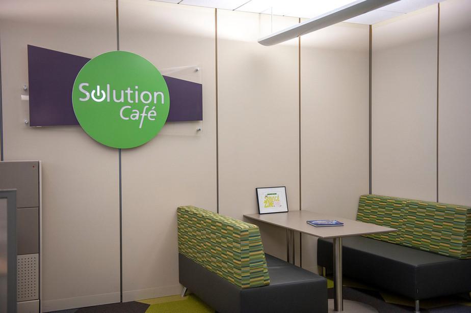 Interior Signage including LED lighting