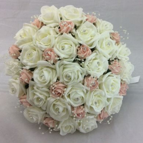 Wedding Bouquet - Princess Posy with Pearls