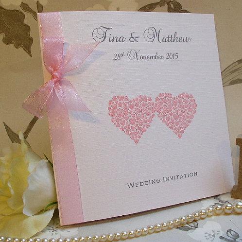 Wedding Invitation - Heart of Hearts