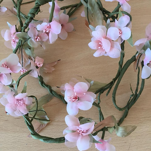 Jasmine Garland - Artificial Flowers - Pale Pink