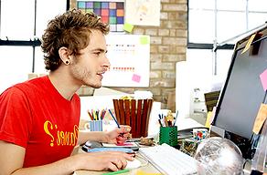 Unsere Design-Profis kümmern sich schnell und zuverlässig um Ihre Unternehmenskommunikation