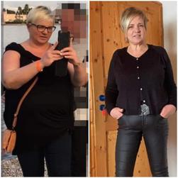 Susanne minus 25 Kg / 5 Monate