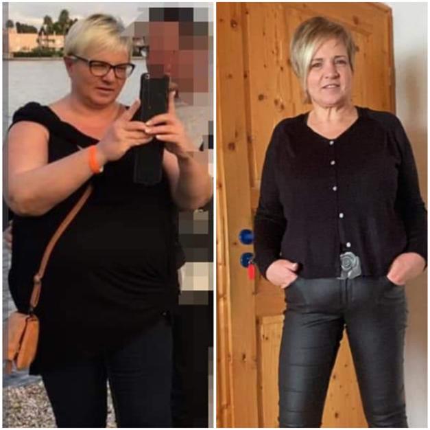 Susanne minus 25 Kg _ 5 Monate