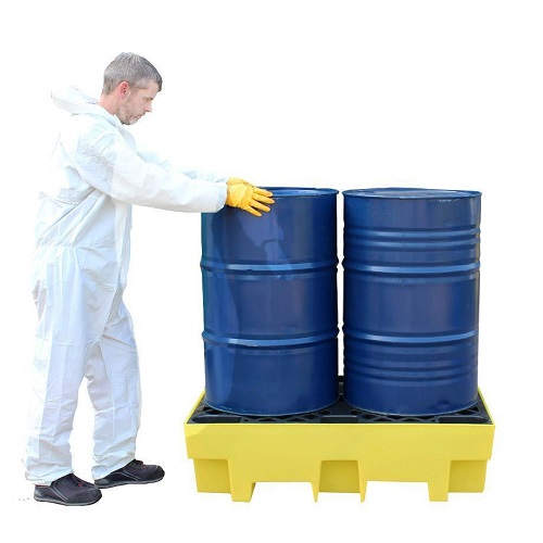 Spill Pallet for 2 Drum