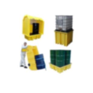 plastic spill pallets