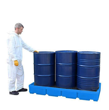 Spill Pallet for 3 Drum