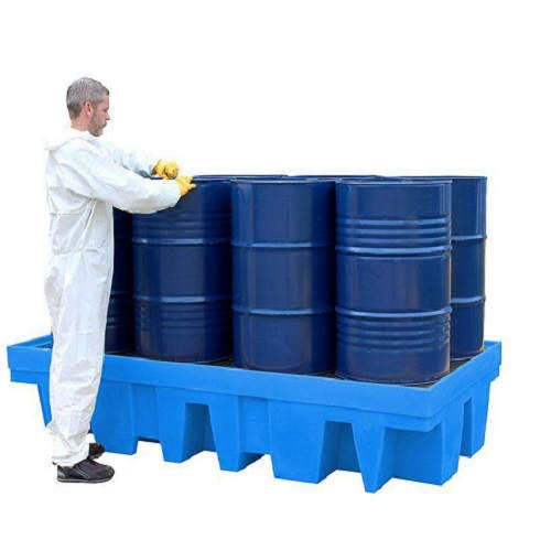 Spill Pallet for 8 Drum