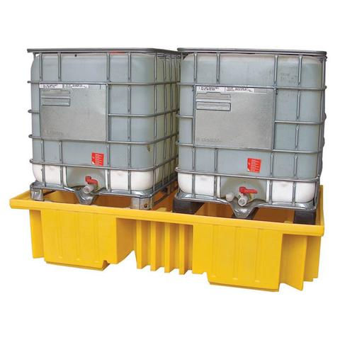 Spill Pallet for two IBC container
