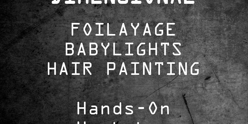 Dimensional  Foilayage, Babylights, Hair Painting