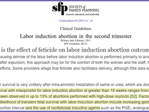 Medically induced late-term abortions can result in born-alive infants up to half of the time