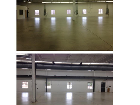 Before & After Manufacturing Space