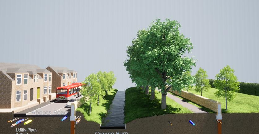 Abbots Road/ Zetland Park Proposed Defences
