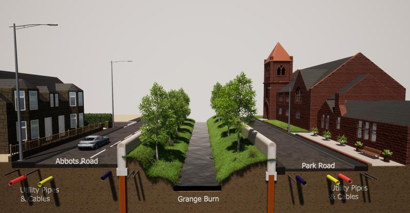 Abbots Road/ Park Road Proposed Defences