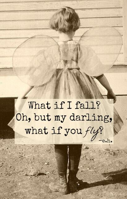 medo, amor, voar