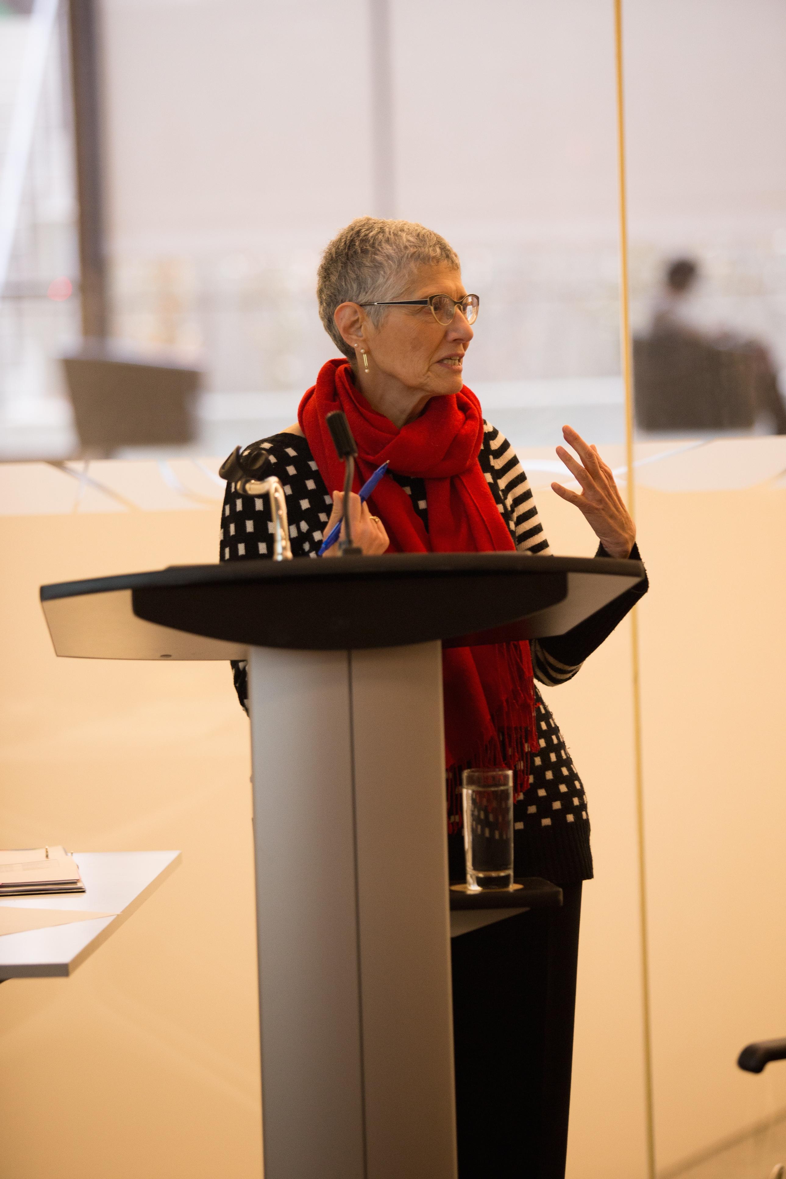 Susan speaks on Mentorship