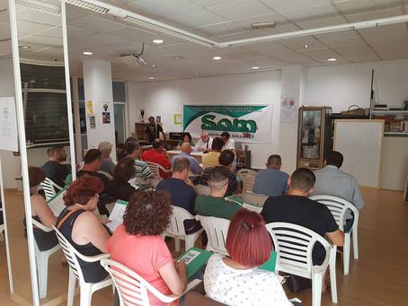 I Asamblea General, 8 de Junio de 2017, local de Ágora, C/ Reina María Cristina 34, Palma.