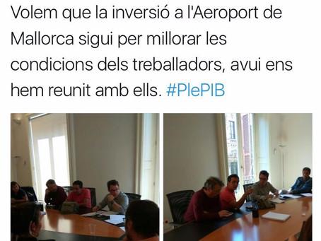 Reunión Podemos Parlamento.
