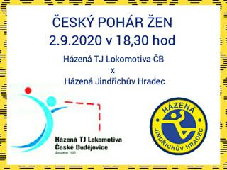 ČESKÝ POHÁR ŽEN 2.9.2020