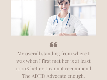 Why I owe so much of my success as a Doctor to The ADHD Advocate