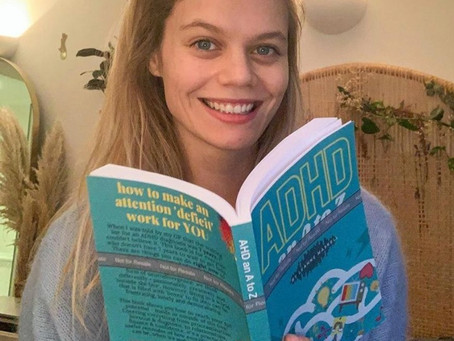 """Introducing our new ADHD Coach, author of """"ADHD: An A- Z"""",          Leanne Maskell"""
