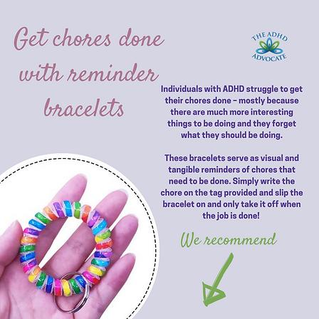 Reminder Bracelets