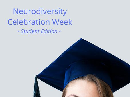 Neurodiversity Celebration Week - Student Edition