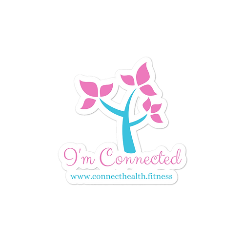 I'm Connected Sticker