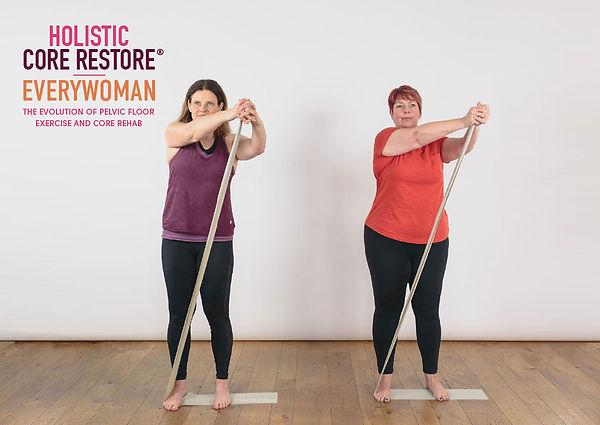holistic core restore everywoman resistance band palloff