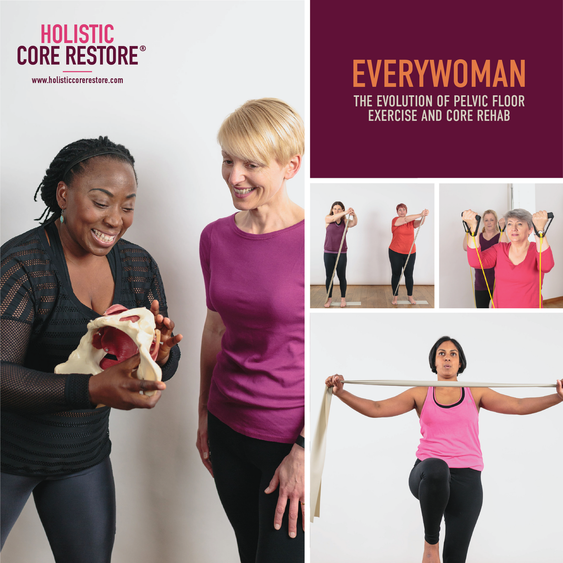 Join Our Most Popular, 12 Week Group Pelvic Floor & Core Strengthening Course for Women.