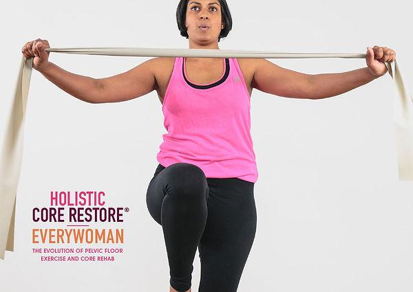Holistic Core Restore Everywoman Band Pull Balance