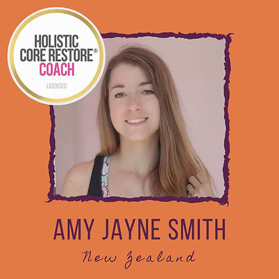 Amy Jayne Smith, Holistic Core Restore Coach
