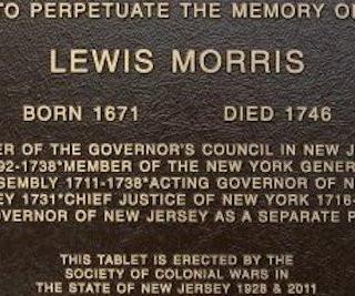 2011 - Lewis Morris Tablet