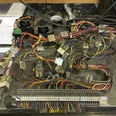 JLG Control Box Wiring Removed