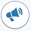 Icon of a Mega-phone Website Solution