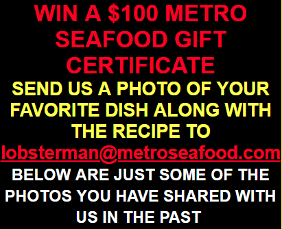 Metro Seafood Photo Recipe Competition