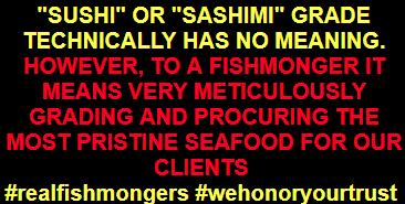 """""""Sushi"""" or """"Sashimi"""" grade"""