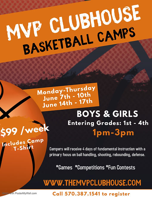 Summer 2021 Basketball Camp Flyer (young