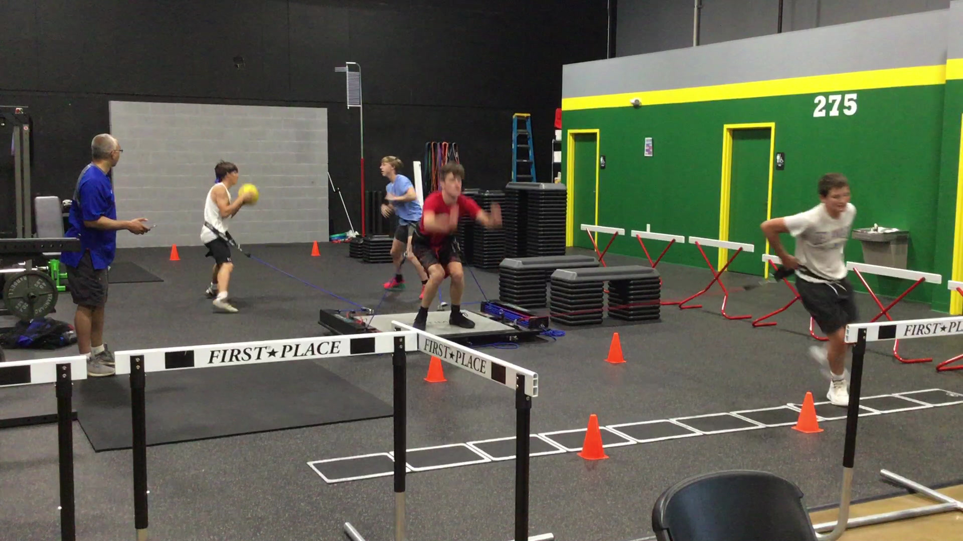 working out with Social Distancing