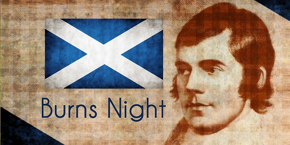 SOLD OUT - Rabbie Burns Night 2020!