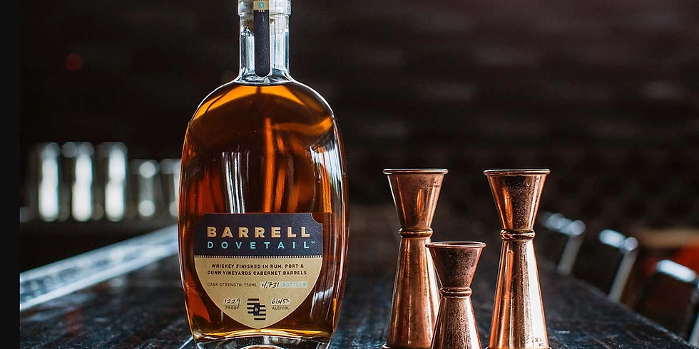 Kentucky Whiskey Pairing Dinner - With Barrell Craft Whiskey