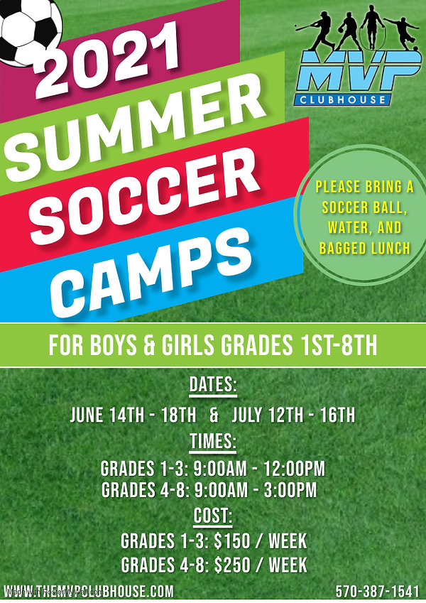 Copy of Soccer Camp Flyer - Made with Po