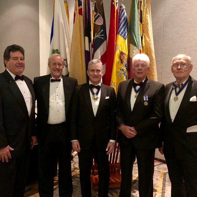 New Jersey Society Members at the formal banquet