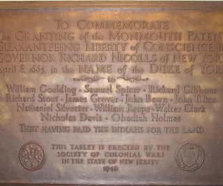 1946 - Granting of the Monmouth Patent