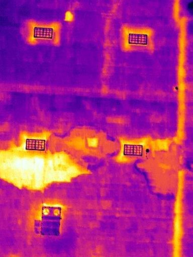 Thermal Roof Line with Damage